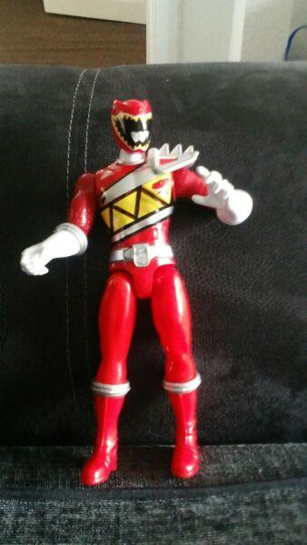 """10"""" Parlando Power Ranger Figura Facile Da Usare"""
