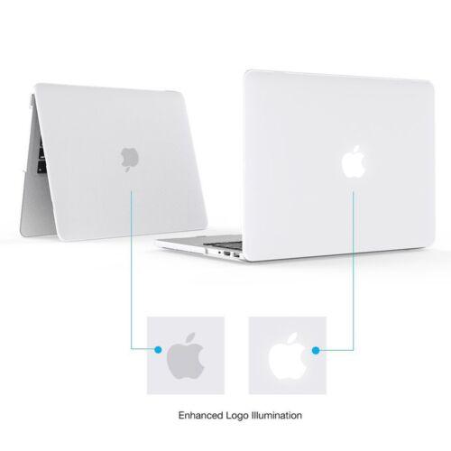 "New Ultra-Clear Slim Hard Case KB Cover LCD 2018//2016 iMac Macbook Pro 13.3/""15.4"