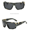 Men Polarized Sports Sunglasses Ourdoor Driving Riding Camouflage Frame Glasses