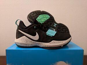 a81333cc9dc Nike PG1 Black Light Aqua Men Basketball Sneaker  878627-002  SIZE ...