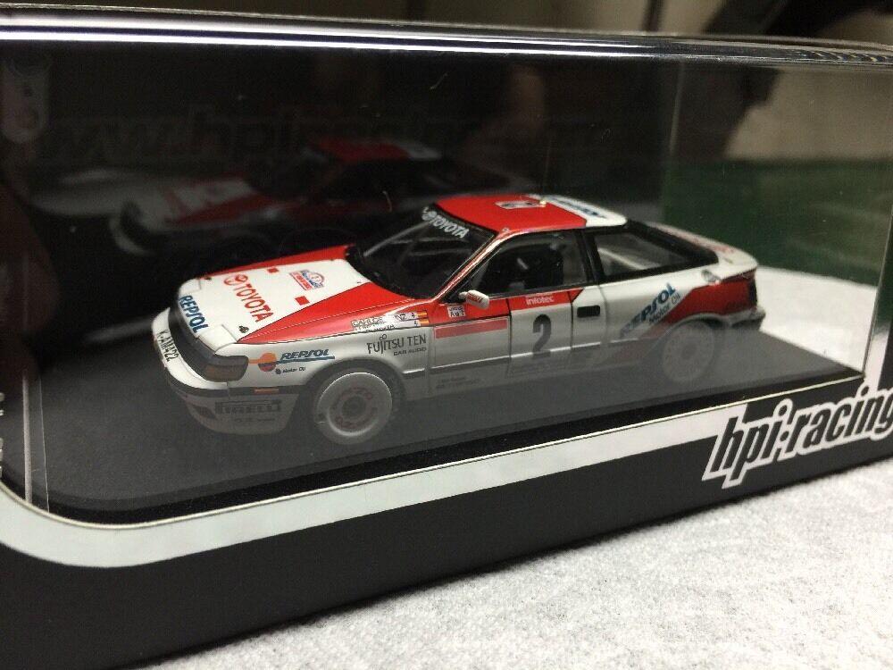 última Hpi 8088 Toyota Celica GT-Cuatro (2) 2018 Tour de Corse 1/43 MODELO TRD