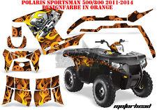 AMR Racing DECORO GRAPHIC KIT ATV POLARIS SPORTSMAN modelli Motorhead B