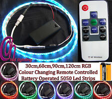 1m Led Lights Strip Battery Powered Showcase Camping