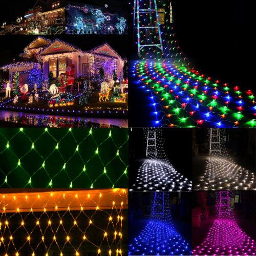 LED Lichternetz Party Lichterkette Beleuchtung Innen Auße Hochzeit Dekoration