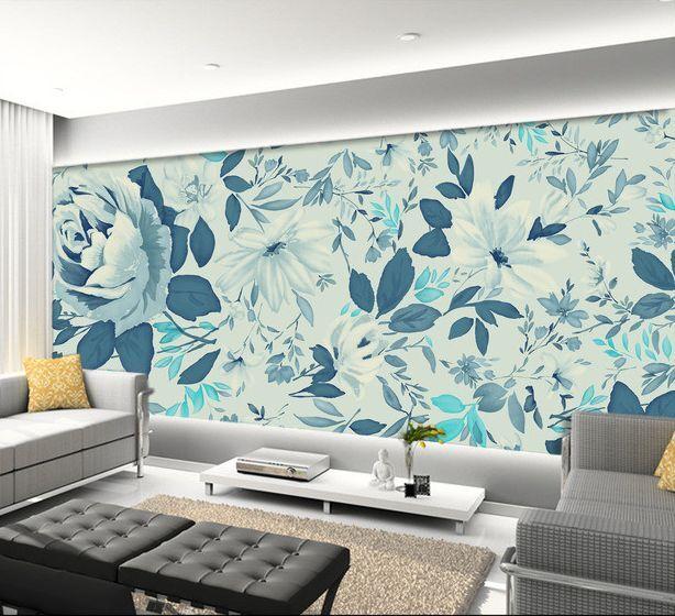 3D Fiori, modello 34 Parete Murale Carta da parati immagine sfondo muro stampa
