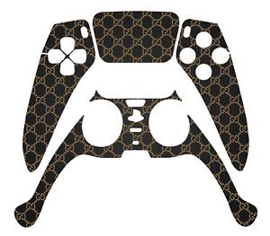 GUCCI-DESIGNER-PS5-CONTROLLER-VINYL-SKIN