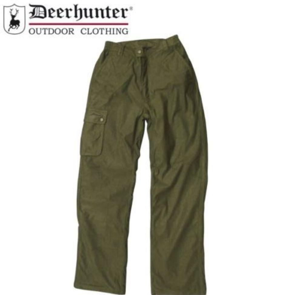 Deerhunter Shellbrook Patrole Trousers Pant Green Warm Quiet Waterproof New SALE
