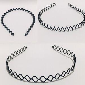 Black-Metal-Wire-Wave-Style-Alice-Sports-Hairband-Headband-Hair-Alice-Band-Hair