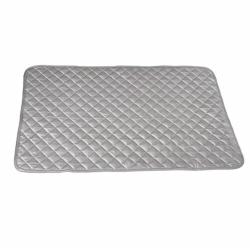 Foldable Ironing Mat Heat Resistant Blanket Laundry Pad Washer Dryer Cover Board