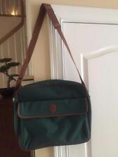 NWOT Vintage Polo Ralph Lauren Classic Green Messenger Bag
