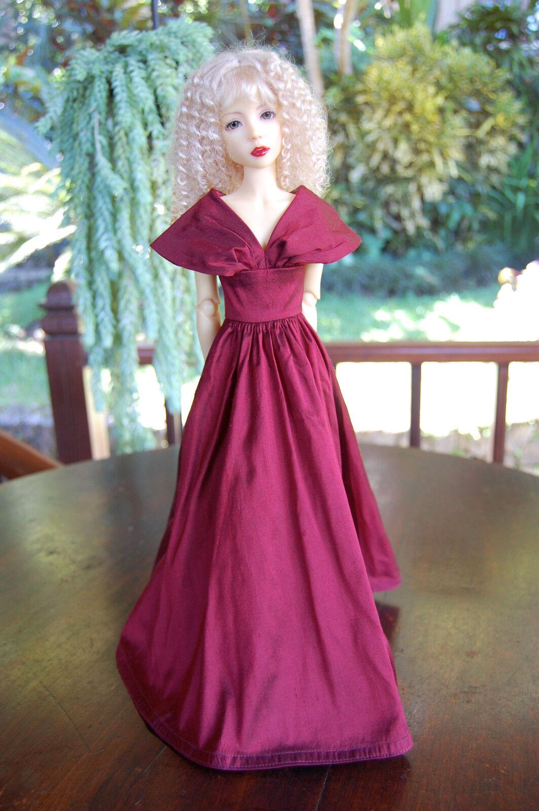 Boneka Vestido de Seda Abendrobe 43cm Bjd- MSD Diferentes Color   Balón Gown