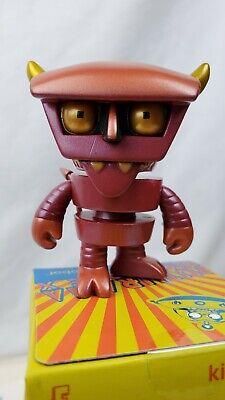 "Kidrobot Universe X 3/""Bender with Mask /& Cigar Vinyl Figure New!"