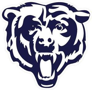 chicago bears decal car window wall cornhole vinyl sticker rh ebay com