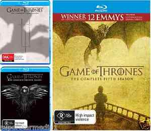 Game-Of-Thrones-SEASON-3-4-amp-5-NEW-Blu-Ray
