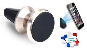 Supporto Magnetico Universel Griglia Ventilazione Auto per Telefono (Oro /
