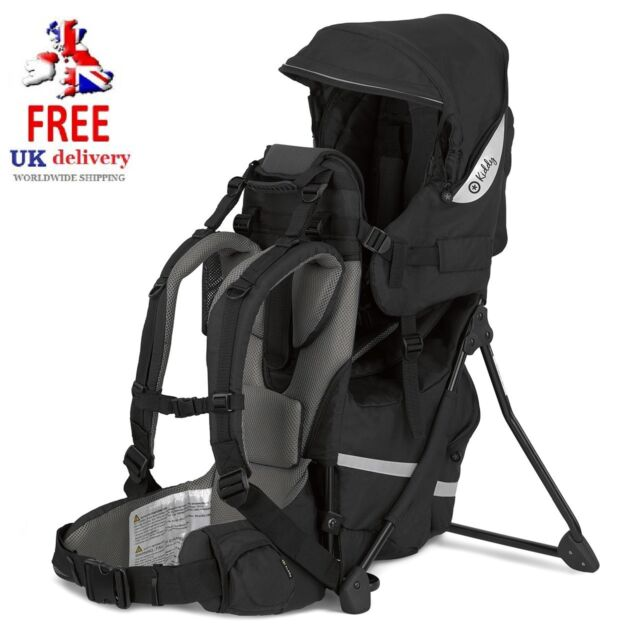 Kiddy Baby Travel Carrier Adventure Pack Black Toddler Backpack 47200rt123