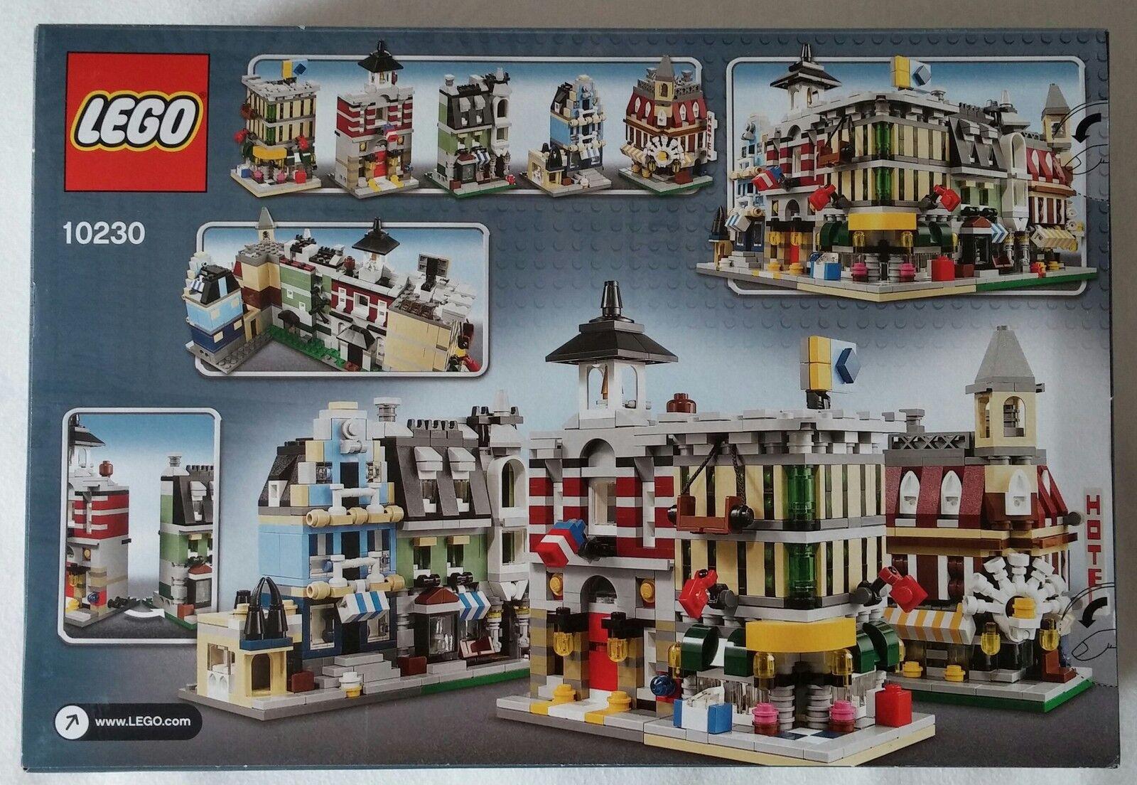 LEGO® 10230 Mini Modulars exclusive Neu & OVP OVP OVP new sealed selten rare VIP 9aaf19