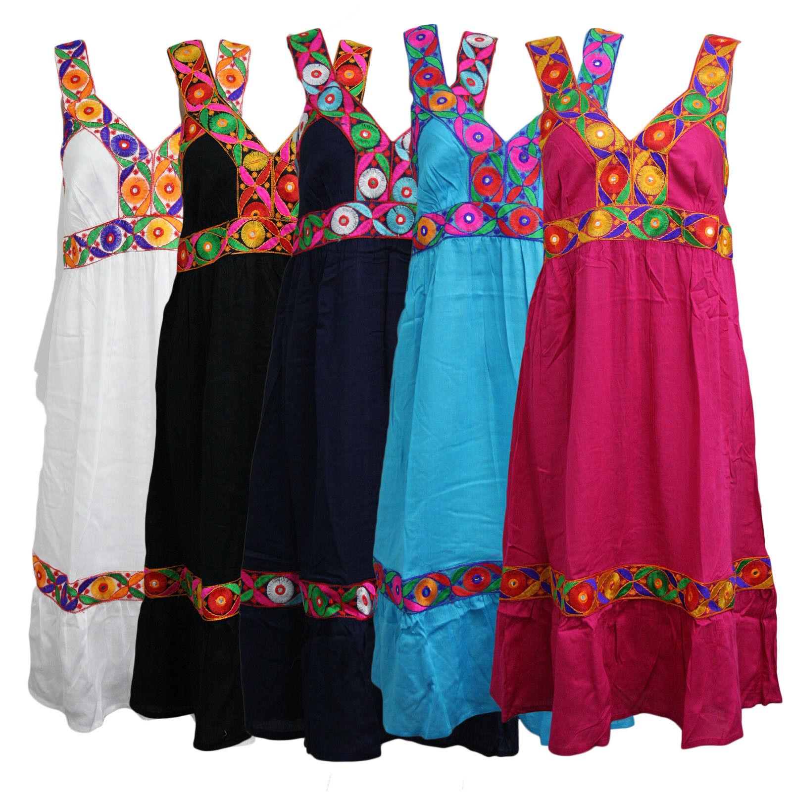 267861bcb Sexy Femmes Summer Boho dentelle longue longue longue maxi robe de ...