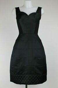Suzannah-Black-Paneled-Dress-Size-UK-Medium