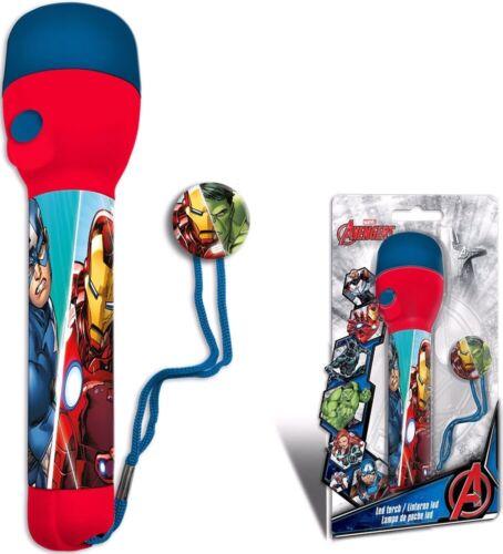 Official Kids LED Flash Light Torch Avengers Frozen 2 LOL Night Light Kids Gift