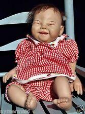 Ashton Drake SANDY FABER ~Lisa's Ladybug~Reborn Weighted Doll~Ticklish~Teeth~