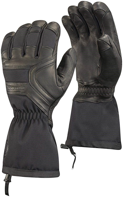 Black Diamond 168184 Mens Crew Extreme Cold Weather Gloves Black Size X-Small