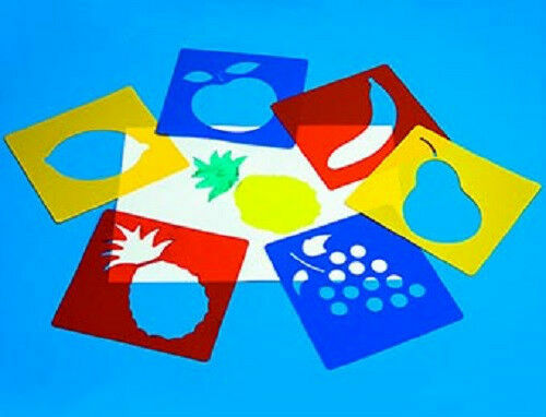 Fruit Stencils (Set of 6) AP/028/FS