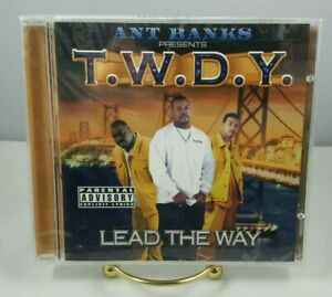 T W D Y Lead the Way CD 2000 Thump Records Ant Banks Bay Area Rap SMOKE FREE