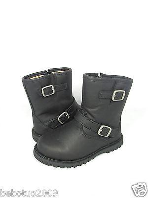 32c3091981a NEW TODDLER LITTLE KIDS UGG AUSTRALIA BOOT HARWELL BLACK 1001515 ...