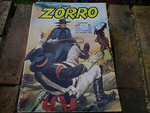 ZORRO-n-21-Edition-OCCIDENT-1979-tres-bon-etat
