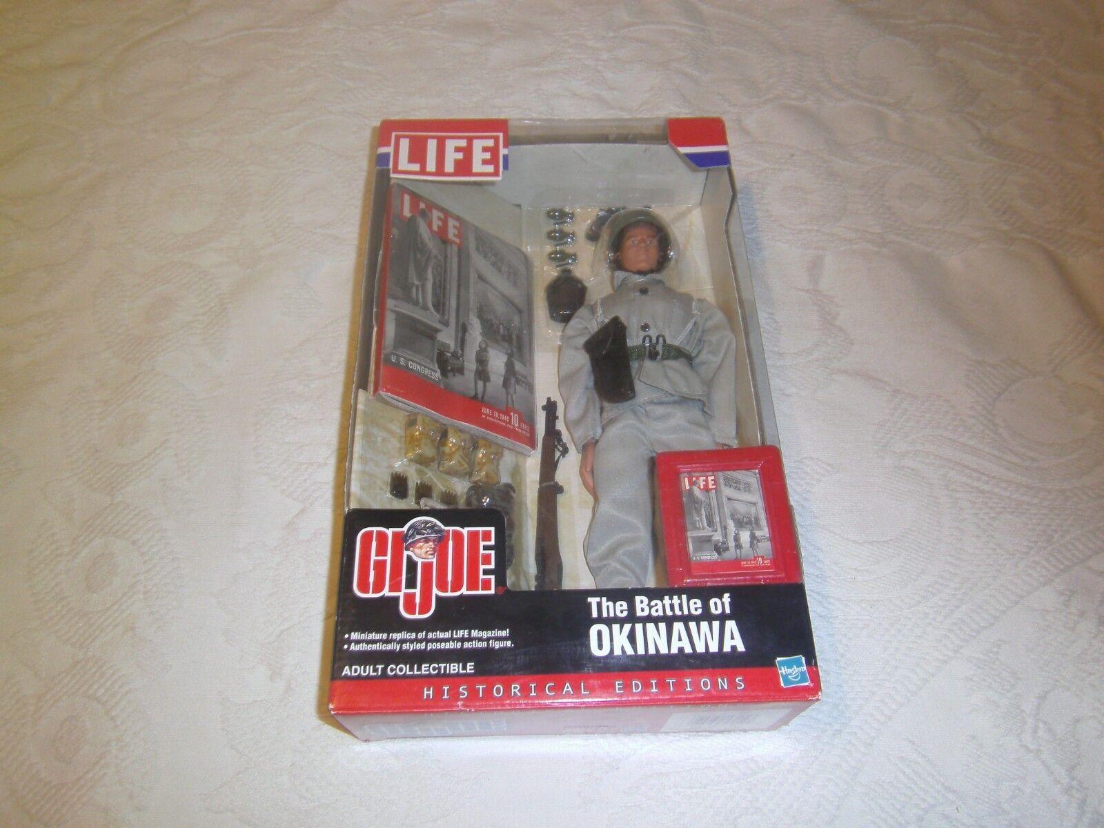 Vintage 12  GI Joe battle of Okinawa 2002 action figure Life Historical Editions