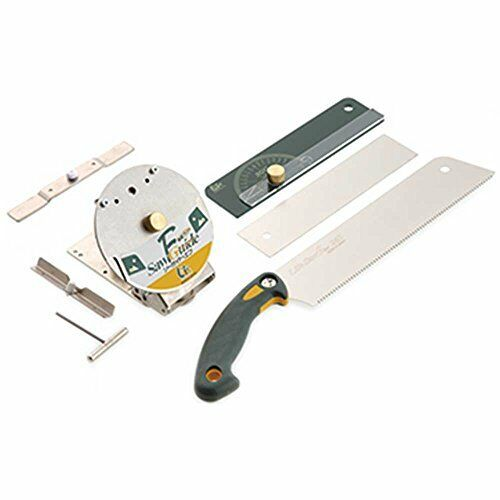 Japanese Nokogiri Pull Saw and Saw Guide Set Carpentry Tool F S w Tracking  NEW