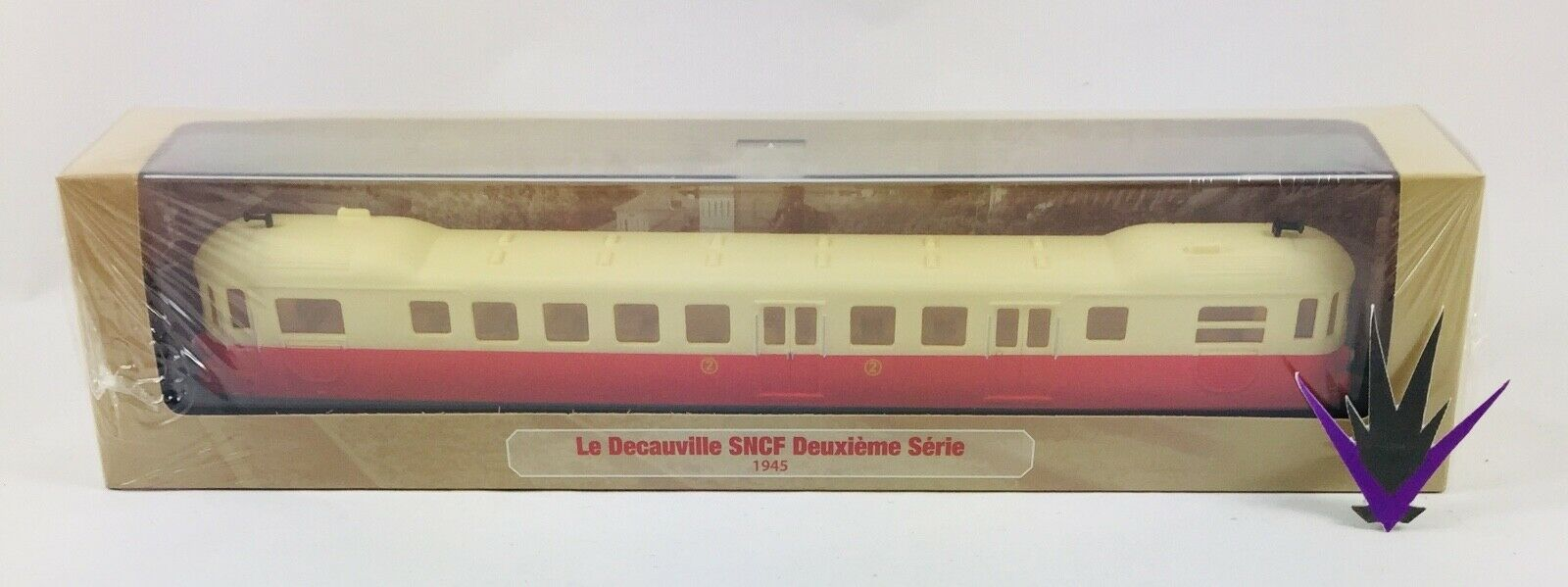 Micheline & Railcar Atlas Ho 1 87 Decauville SNCF Second Series
