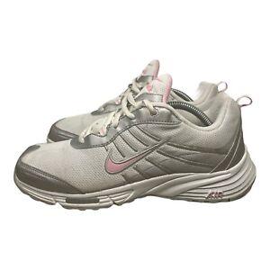 Nike Rolling Rail 2007 Walking Shoes White & Pink Women's Size 6.5 (315315-161)