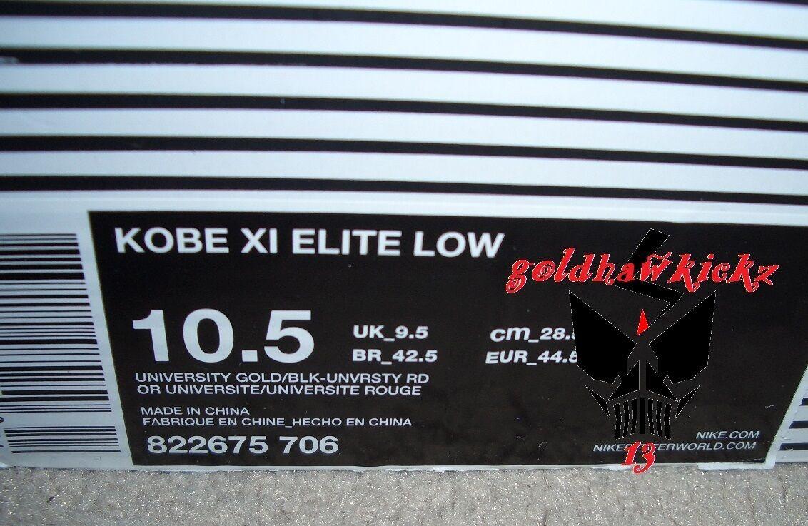 nike kobe xi 11 elite gering bruce lee gelb kampfgeist schwarze gold - gelb lee - rot - flyknit a96a7d
