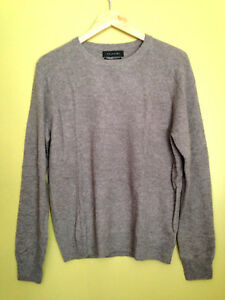 Details about NWT Tahari Pure Luxe 100% Cashmere Men's Handsome Brown Crew Neck Sweater M $245