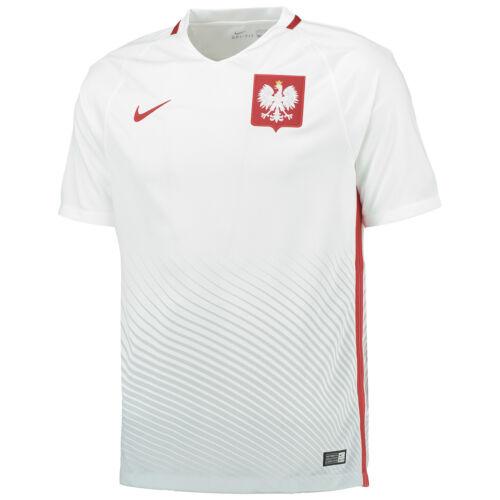RPOL15 Polen Nike Heim Euro Trikot Europameisterschaft Frankreich EM 2016 2017
