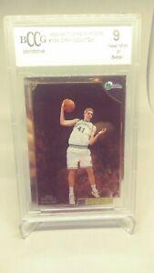 1998-Topps-Chrome-Dirk-Nowitzki-Rookie-Card-RC-154-BCCG-Beckett-9