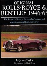 Original Rolls Royce & Bentley 1946-65 Restorers Guide Mk VI R S Type Dawn Cloud