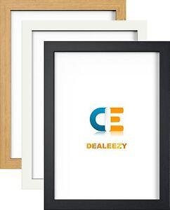 Picture-Photo-Frame-Large-Maxi-Poster-Frames-Black-White-Oak-Colour-Wood-Effect