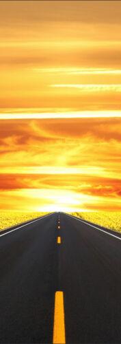 Poster door poster decoration trompe l/' oeil road ref 567-4 dimensions