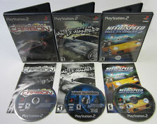 Need For Speed Carbon, Most Wanted, & Hot Pursuit 2 (NTSC-U/C PS2 Lot)