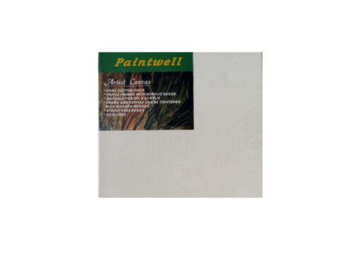 "10x Paintwell 30x40"" 76x102cm, 34"" 18mm Thick,White Stretched Canvas Panels"