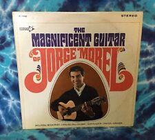 JORGE MOREL The Magnificent Guitar WLP White Label Promo DECCA DL-74966