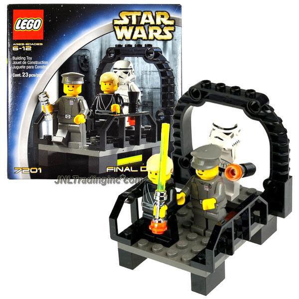NEW 2002 LEGO Star Wars 7201 FINAL DUEL II Luke Skywalker/Imperial/Stormtrooper