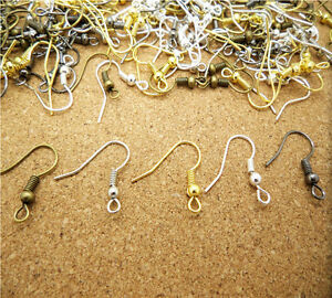 Wholesale-NEW-DIY-100PCS-500PCS-Earring-Hook-Coil-Ear-Wire-For-Jewelry-Making