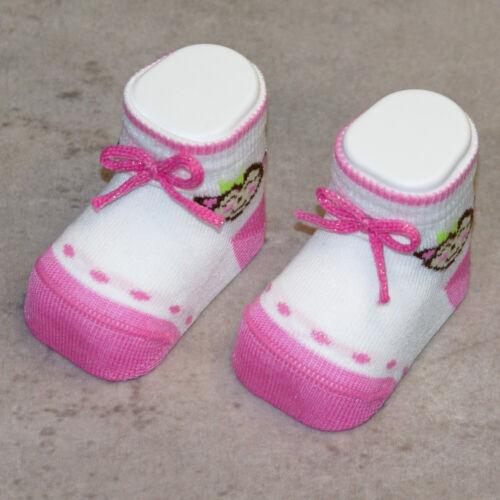 Scarpina calzino neonati in misto cotone primavera estate made in Italy MAFER
