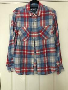 Gap-1969-Blue-Casual-Shirt-Size-Small-WoMens-Long-Sleeve-Great-Condition-E60