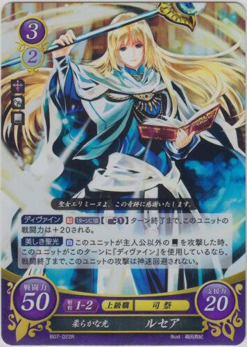 Fire Emblem 0 Cipher TCG Booster Part 7 Ruthea Lucius R B07-022
