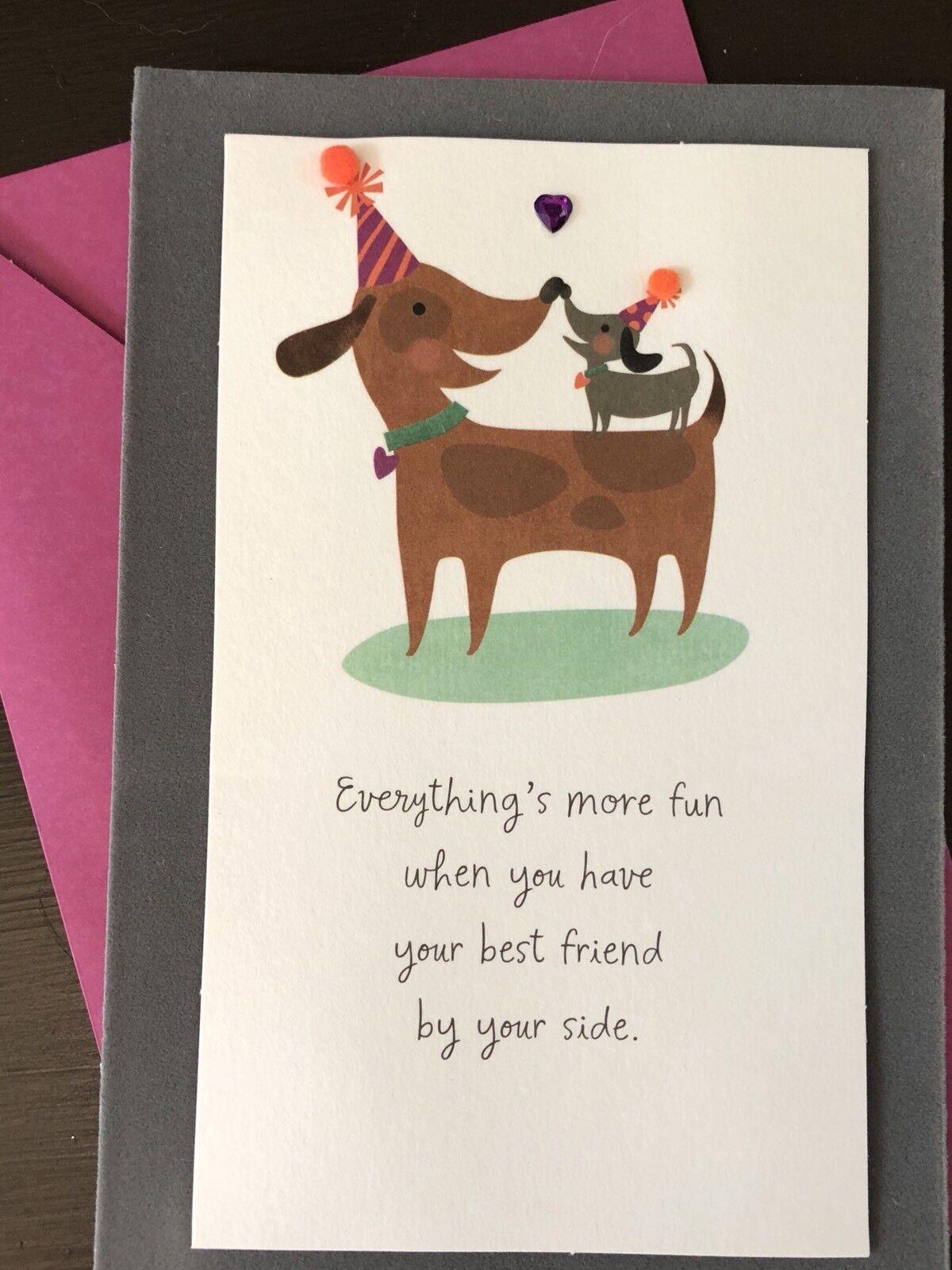 Papyrus Christmas Cards Dachshund Dog Holiday 1 Box 12 Cards Envelopes /& Seals